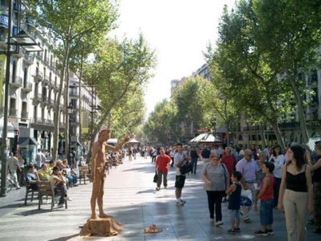 Un giorno a Barcellona, itinerario a piedi