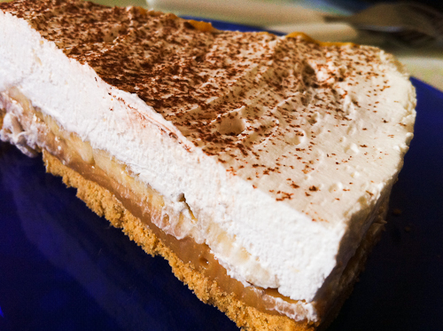 Banoffee, la torta di compleanno di latte e banane