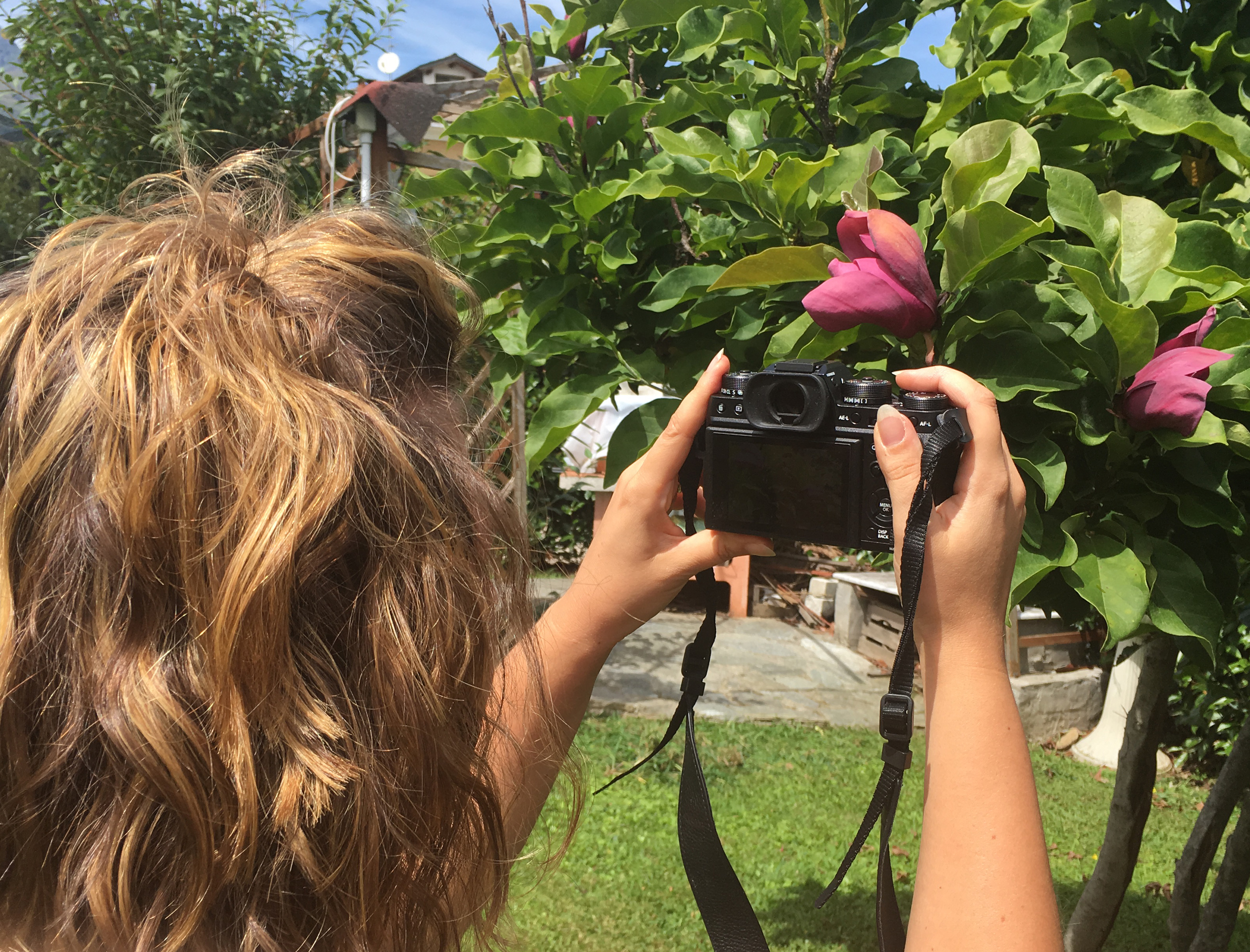 Scrivere e scattare foto