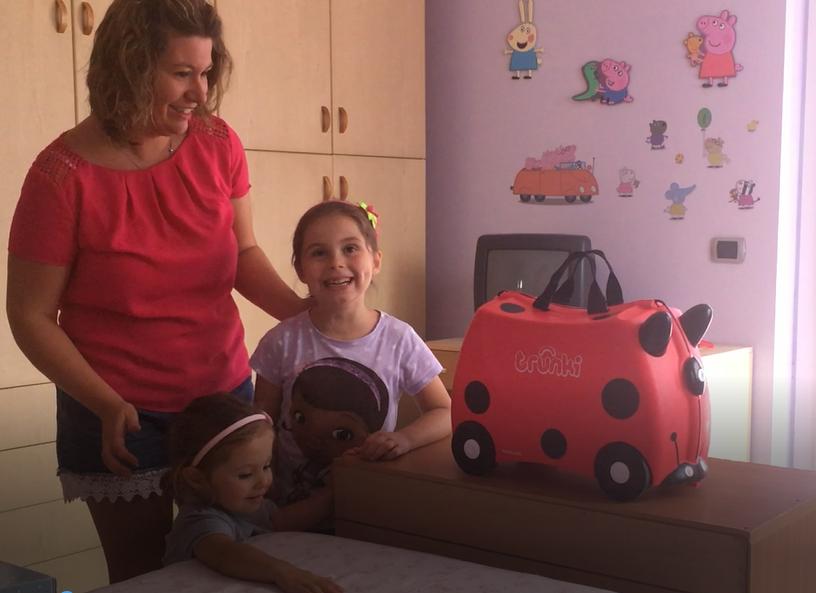Facciamo le valige – Video con Aurora e Vanessa