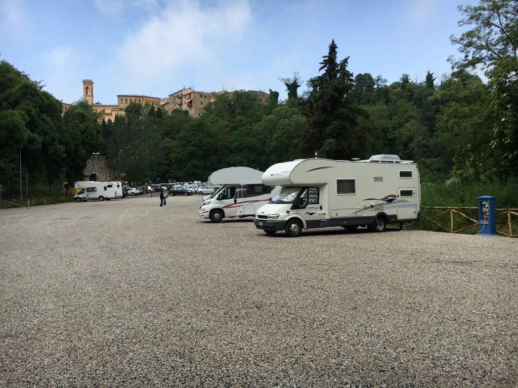 Area sosta camper Volterra MammaInViaggio