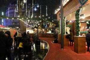 Londra Mercatini di Natale Leicester Square MammaInViaggio