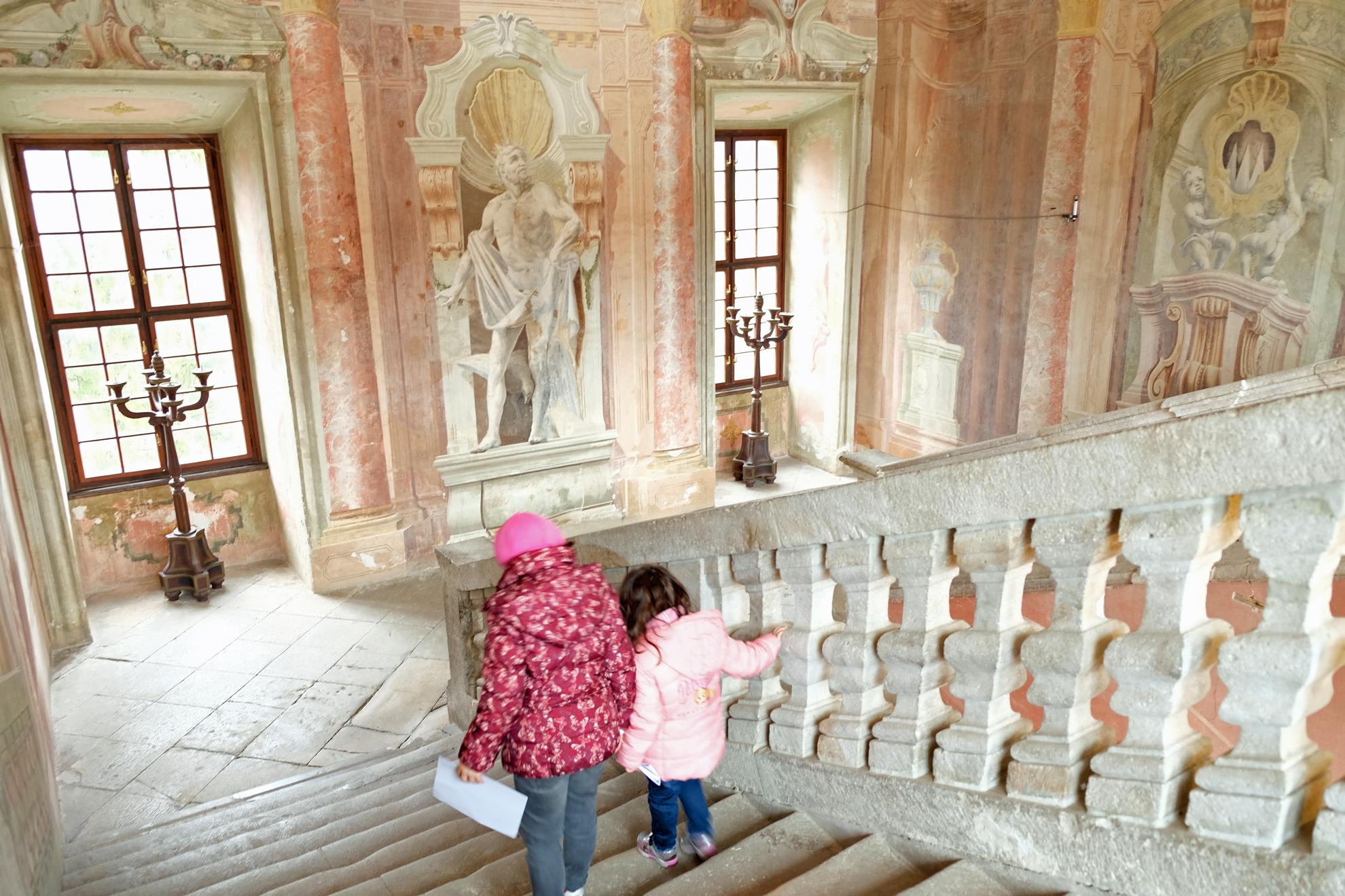 Castello di Brezice, vicino a Catez é in mostra la storia