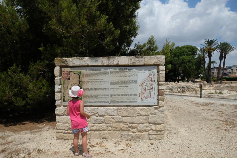 Cipro Larnaka sito archeologico Kition MammaInViaggio