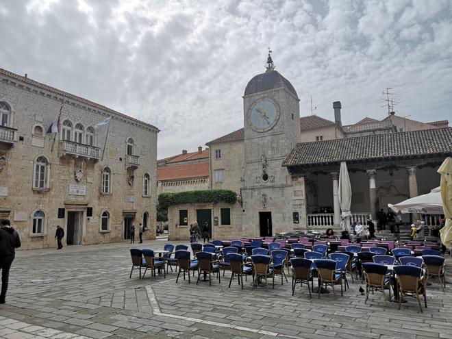 Croazia Trogir Piazza Principale MammaInViaggio