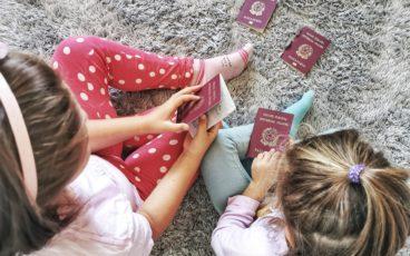 Passaporto elettronico per bambini