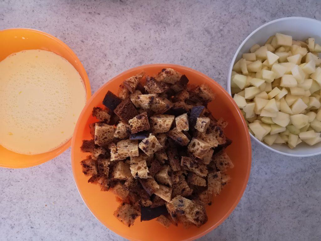 Riciclo panettone ricetta