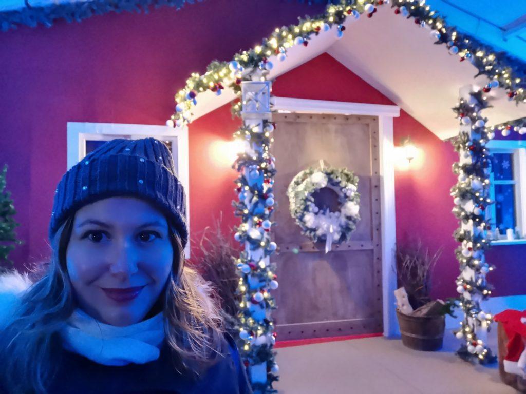 Magico Paese di Natale Casa di Babbo Natale