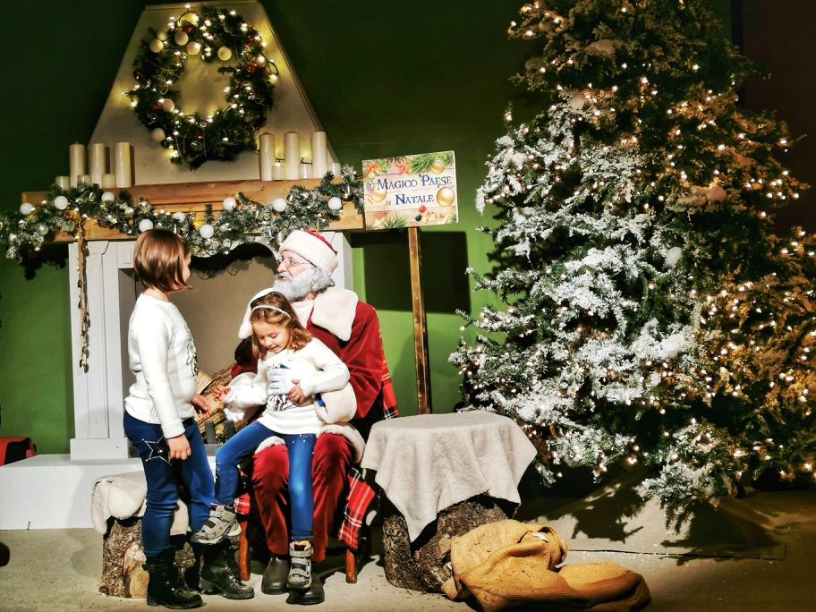 Magico Paese di Natale Babbo Natale