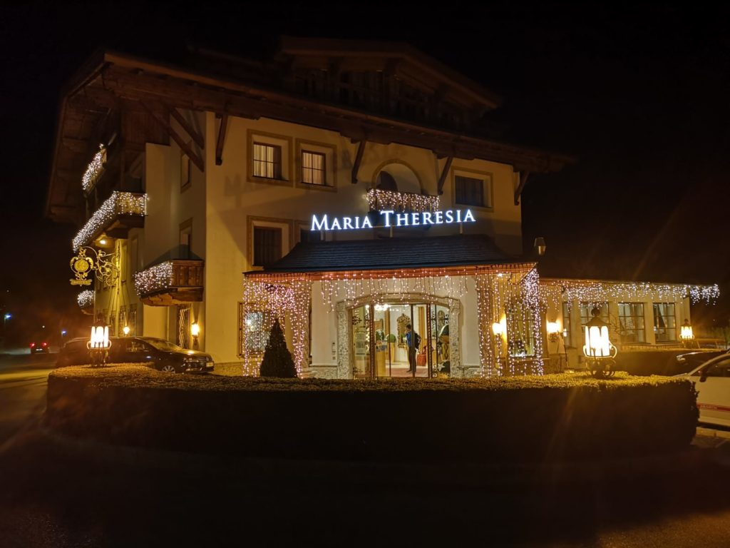 Hall in Tirol Garten Hotel Maria Theresia