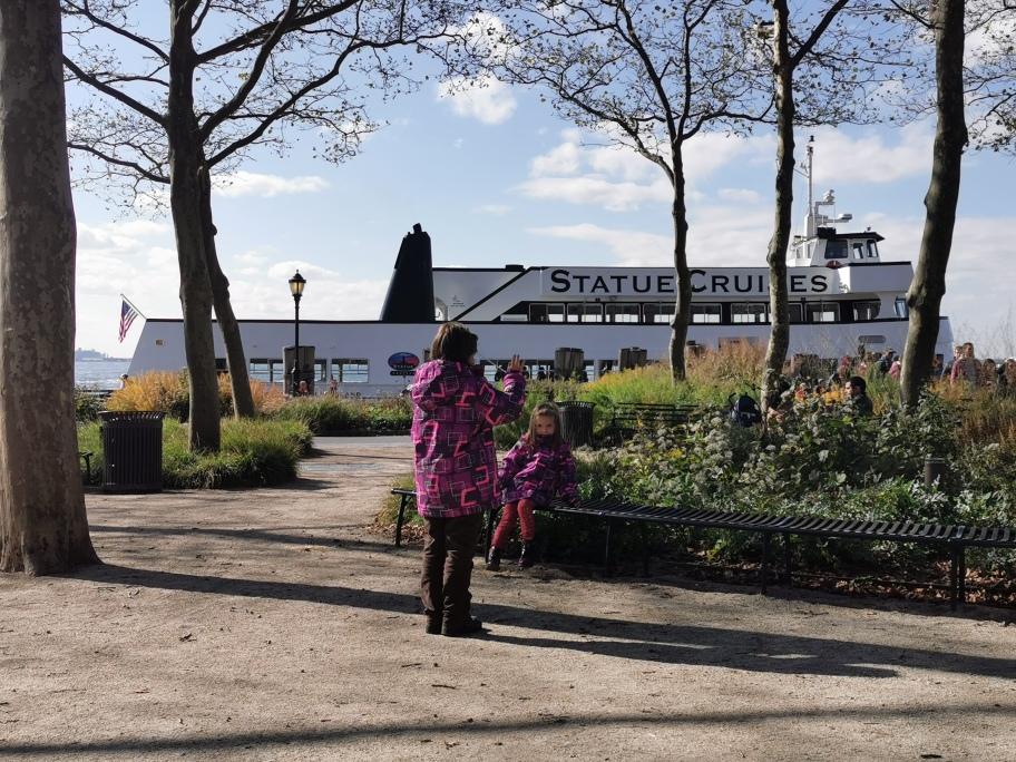 New York Statua della libertà Ferry