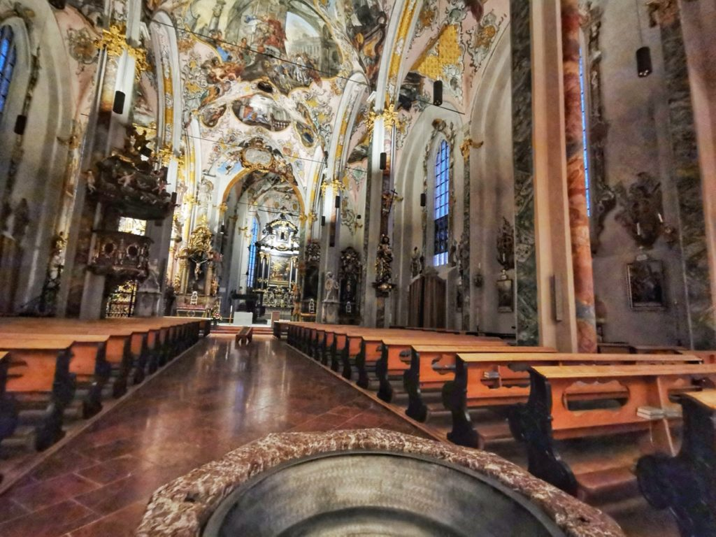 Hall in Tirol Chiesa St Niklaus