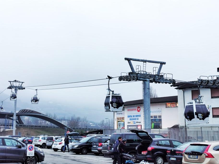 Telecabina Pila Aosta