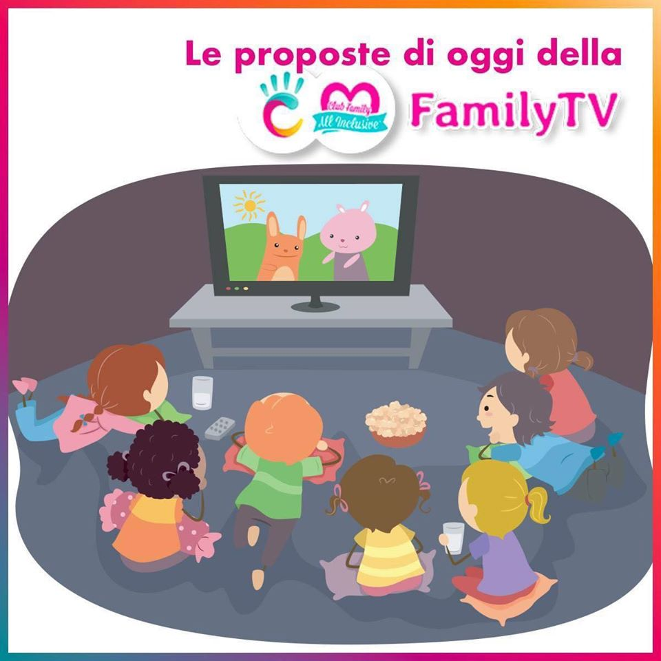 Family Tv ColorHoliday