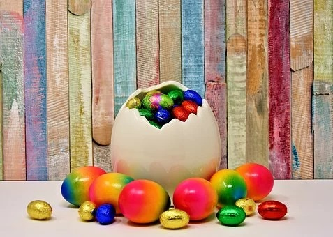 riciclare uova pasqua