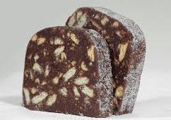 salame di cioccolato senza glutine