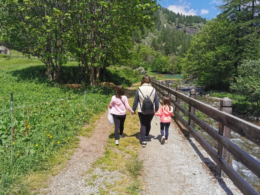 Trekking Cascate del Toce