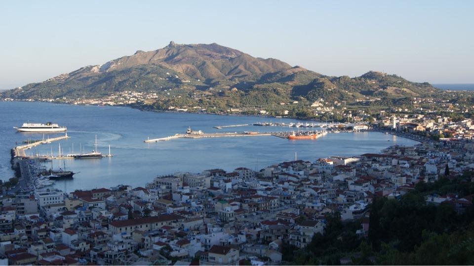 Isola di Zante Grecia