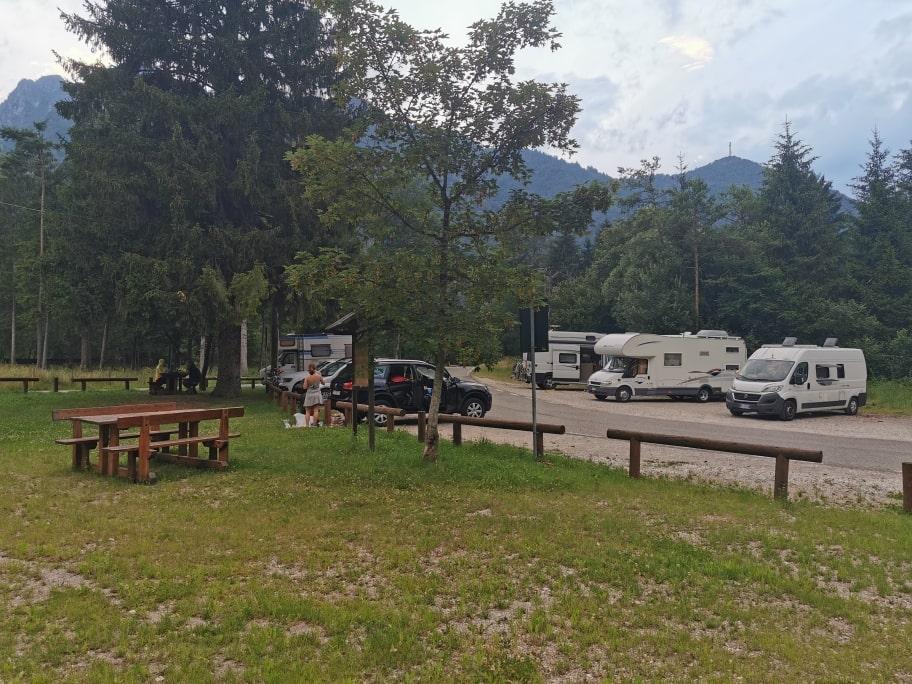 Lago di Ledro in camper