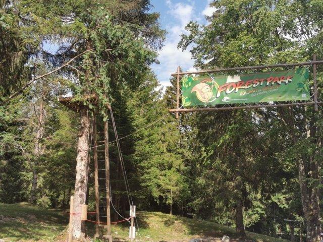 Altopiano di Pradel Forest Park