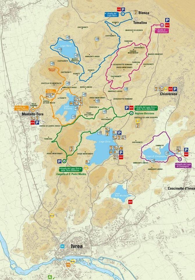 cartina anelli dei 5 laghi