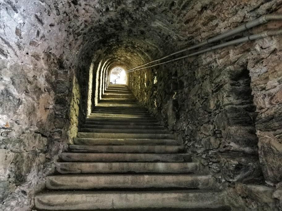 Forte di Fenestrelle Scala Coperta