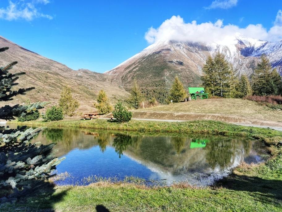 Pian dell'Alpe Panchina gigante