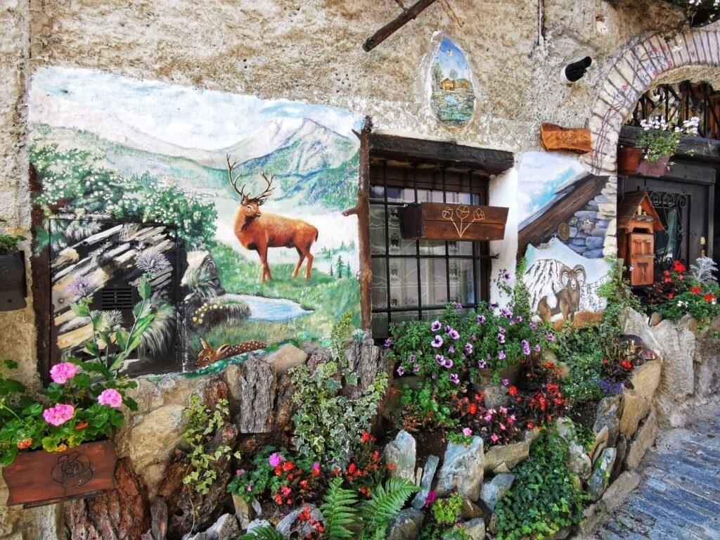 Ussseaux murales