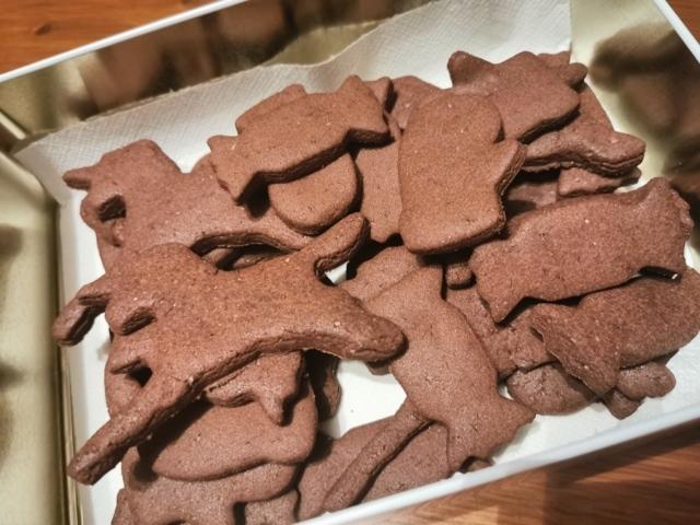 Biscotti di riso al cioccolato